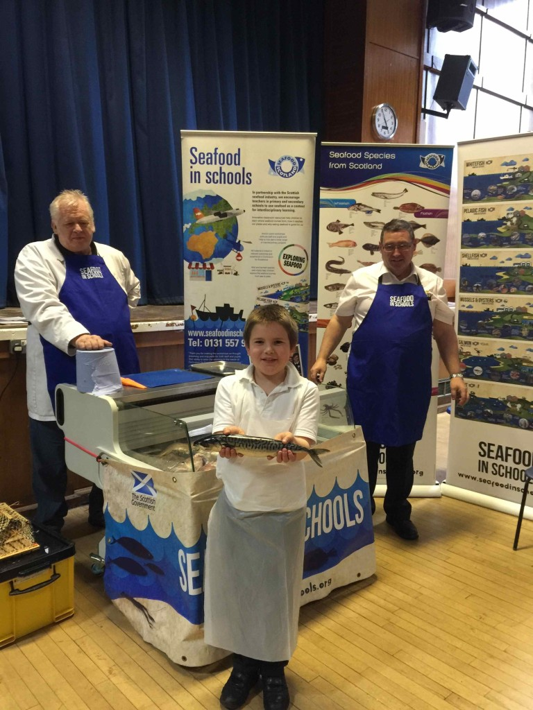 Seafood in schools