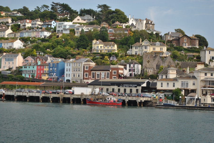 Dartmouth Harbour in the day © Emma Pearson